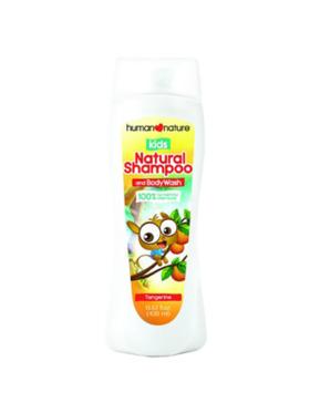 Human Nature Kids Natural Shampoo and Body Wash Tangerine (400 ml)