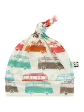 Bamberry Baby Vintage Cars Knotted Hat
