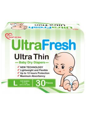 Ultrafresh Ultra Thin Diaper 30s (Large)