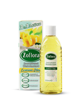 Zoflora Lemon Zing & Disinfectant (250ml)