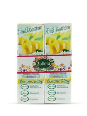 Zoflora Lemon Zing Disinfectant Spray 2-Pack (250ml)