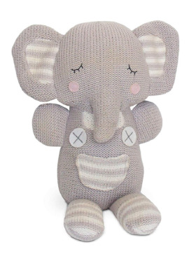 Living Textiles Knitted Toy – Theodore Elephant