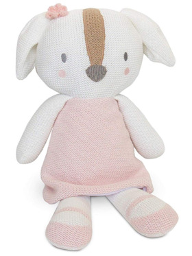 Living Textiles Knitted Toy – Ms. Rory Puppy