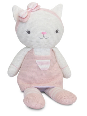 Living Textiles Knitted Toy – Ava Cat