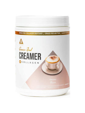 Level Up Nutra Original Grass Fed Keto Creamer with Collagen (40 Servings)