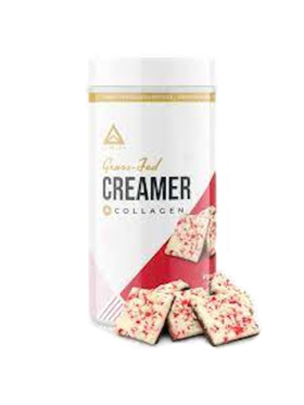 Level Up Nutra Peppermint Mocha Grass Fed Keto Creamer with Collagen (15 Servings)