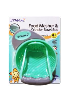 Li'l Twinkies Food Masher & Grinder Bowl Set