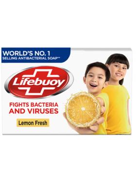 Lifebuoy Antibacterial Soap Lemon Fresh (75g)
