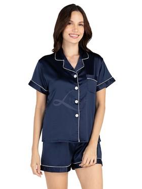 Lisse Plain Jane Short Pajama Set