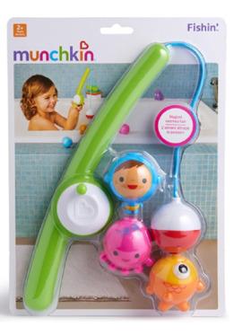 Munchkin Fishin' Bath Toys