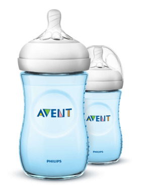 Avent Natural Baby Bottle Twin Pack (9oz)