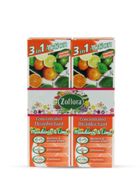 Zoflora Mandarin & Lime Disinfectant Spray 2-Pack (250ml)