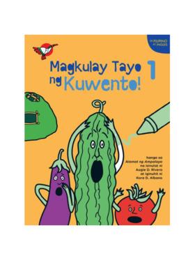 Adarna House Books Magkulay Tayo ng Kuwento 1: Alamat ng Ampalaya