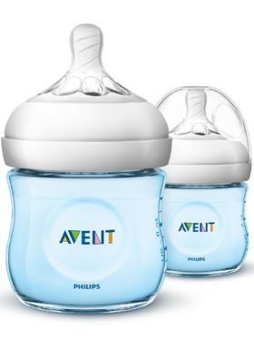 Avent Natural Baby Bottle Twin Pack (4oz)