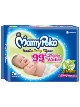 MamyPoko Baby Wipes with Fragrance (76 pulls)
