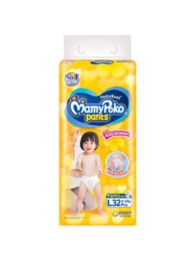 MamyPoko Easy To Wear Pants Large (32 pcs)