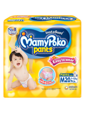 MamyPoko Easy To Wear Pants Medium (20 pcs)