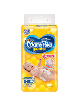 MamyPoko Easy To Wear Pants Small (40 pcs)