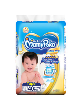 MamyPoko Extra Dry Tape Large (40 pcs)