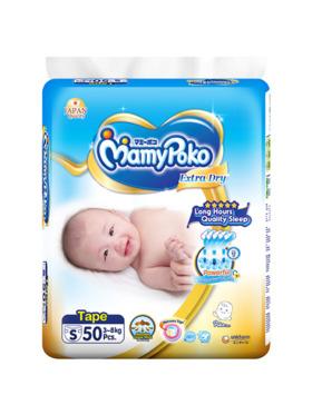 MamyPoko Extra Dry Tape Small (50 pcs)