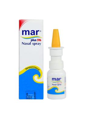 Mar Plus 5% Nasal Spray Solution (20ml)
