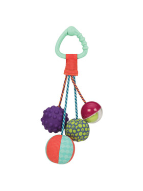 B. Toys Sounds So Squeezy - Sensory Rattle Ball