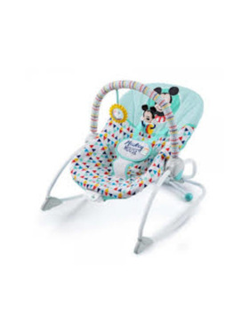 Bright Starts Mickey Happy Triangles Infant To Toddler Rocker