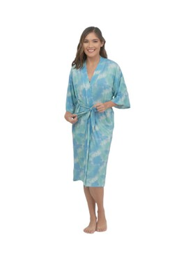 Bamberry Baby Crumple Tie Dye Mommy Robe