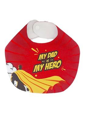 Bibs Manila My Dad, My Hero Bib