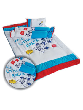 Kozy Blankie My Little Racer Baby Comforter Set