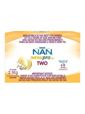 NAN NAN Infinipro HW Two Infant Formula For 6-12 Months (2.1kg)