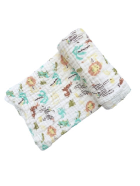 Swaddies PH Animals Multipurpose Muslin Cloth
