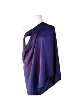Latch&Hugs Blue Grey Nursing Sash