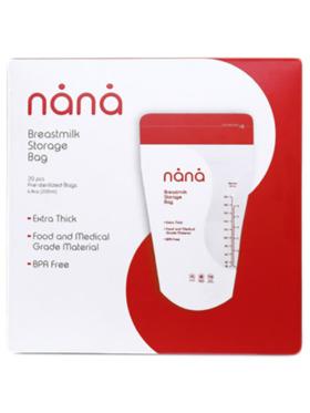 Nana Breastmilk Bag 200ml (20pcs)