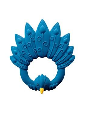 Natruba Baby Teether - Peacock