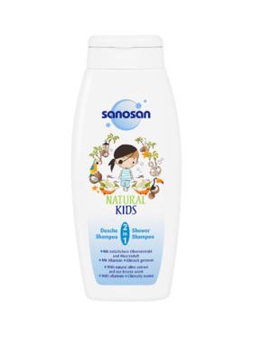 Sanosan Natural Kids 2 in 1 Shower & Shampoo (250ml)