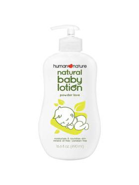 Human Nature Natural Baby Lotion Powder Love (490 ml)