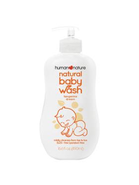 Human Nature Natural Baby Wash Tangerine Dream (490 ml)