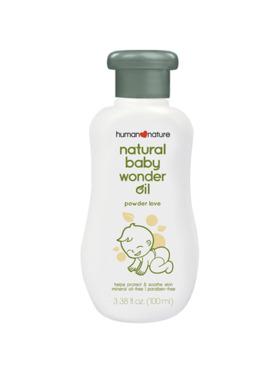 Human Nature Natural Baby Wonder Oil Powder Love (100 ml)