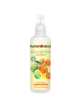 Human Nature Natural Sanitizer Citrus Burst (200 ml)