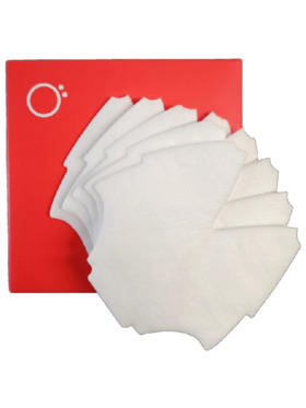 O2 Canada O2 Curve Mask Filters (Pack of 5)
