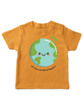 Tiny Buds Tiny Things Save the World Shirt