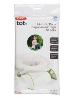 Oxo Tot 2-in-1 Go Potty Refill Bags (10 pack)