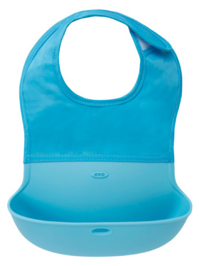 Oxo Tot Roll Up Silicone Bib