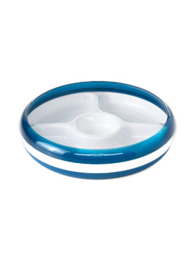 Oxo Tot Divided Plate with Removable Training Ring