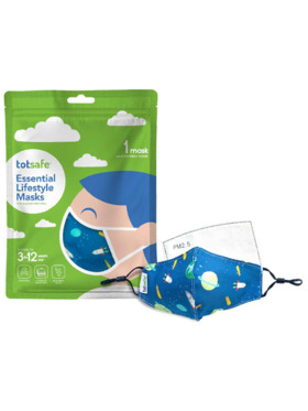 Totsafe Lifestyle Mask - Outer Space II Set (with 3 filters)