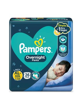 Pampers Overnight Pants Extra Large (26pcs)