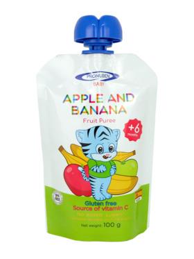 Pronuben Baby Apple and Banana Fruit Puree (100g)