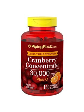 Piping Rock Cranberry Concentrate (150 capsules)