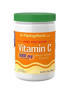 Piping Rock Vitamin C Crystal Powder (680g)